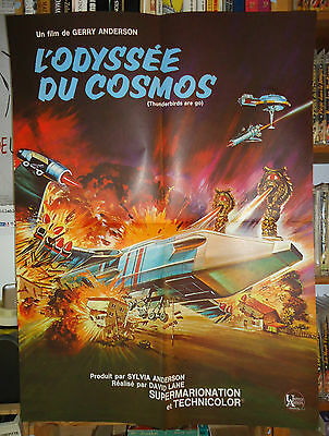 GERRY ANDERSON/ THUNDERBIRDS ARE GO// FRENCH poster