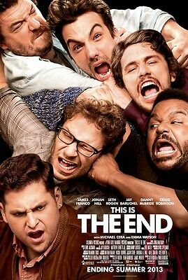THIS IS THE END 11.5x17 PROMO MOVIE POSTER