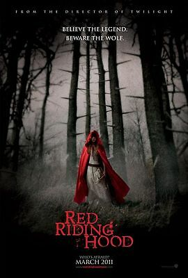 RED RIDING HOOD 11.5x17 PROMO MOVIE POSTER