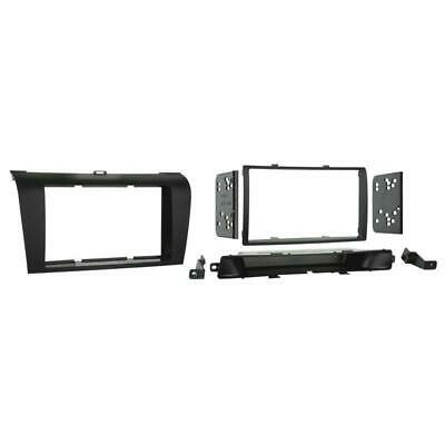 Metra 95-7504 Double DIN Stereo Installation Dash Kit for 2004-2009 Mazda 3