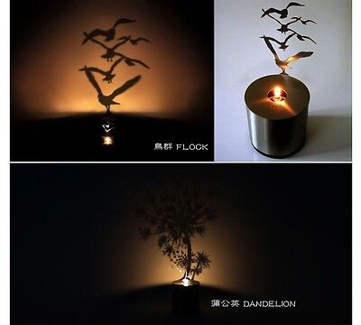 1Piece Lumen Oil Candle Shadow Projectors / Creative LED Shadow Lamp