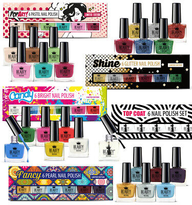 30 x Big Luxury Nail Polish 24 Colours + 6 Top Coat 5Gift Boxes High Quality B4B