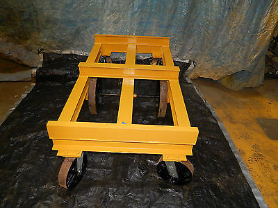 "Teeter Platform Dolly Cart 70""x36"" Approximately 10,000 Pound Capacity"