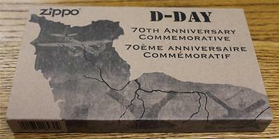 NEW Zippo 70th Anniversary D-Day Commemorative Limited Edition Lighter & Clicker