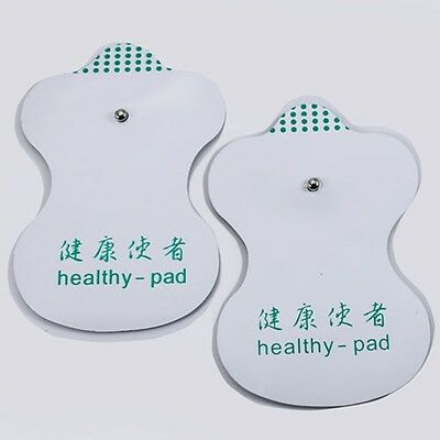 10Pair Electrode Pads for LCD Tens Acupuncture Digital Therapy Machine Massager