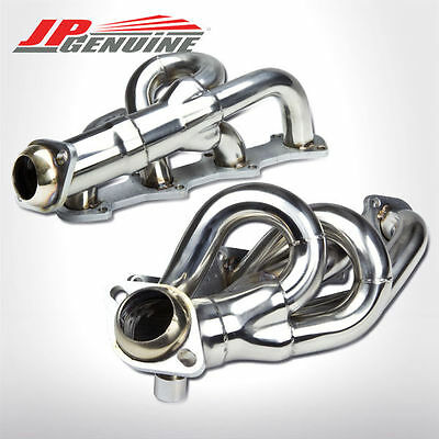 STAINLESS STEEL MANIFOLD EXHAUST HEADER - FORD F150 / F250 / EXPEDITION 4.6L V8