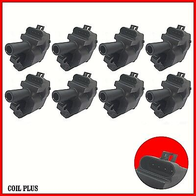 8x Ignition Coil Holden Commodore VT VU VX VY VZ 5.7L LS1 Statesman WH WK WL