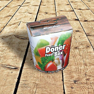 500 Dönerboxen, Foodboxen, Dönerbox, Take away, 26oz 710ml