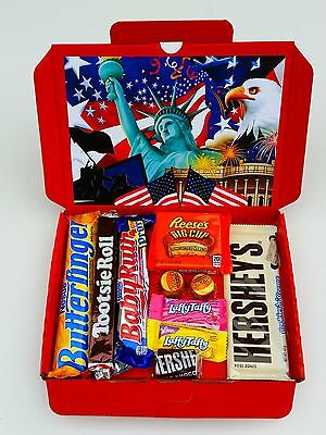 American Chocolate Sweets Candy Gift Box Hamper Reese's Christmas Present A1