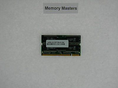 MEM-XCEF720-512M 512MB Approved memory for Cisco DFC3A