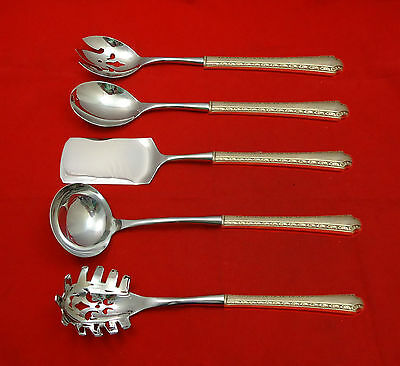 Larkspur by Wallace Sterling Silver Hostess Set 5pc HHWS  Custom Made