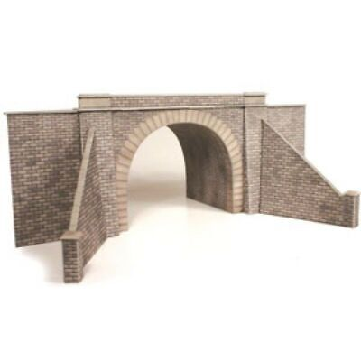 Metcalfe Double Track Tunnel Entrances OO Gauge Card Kit PO242