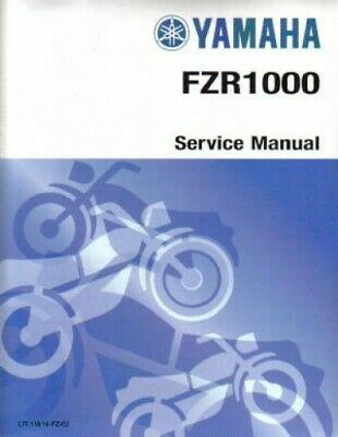 1989-1995 Yamaha FZR1000 Motorcycle Service Manual : LIT-11616-FZ-02