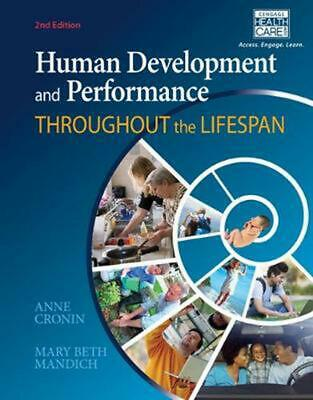 Human Development & Performance Throughout the Lifespan by Anne Cronin Hardcover