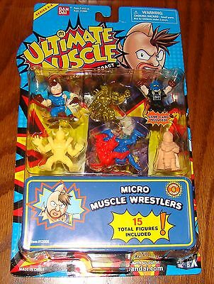 Ultimate Muscle Micro Wrestlers Series 6 Kinnikuman Bandai New! 15 figures