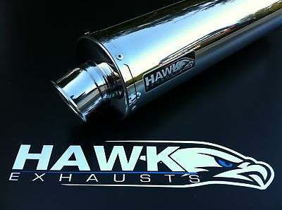 Kawasaki ER6 F,N 2005 2006 2007 2008+ Stainless Steel Round Road Legal Exhaust