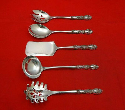 Lucerne by Wallace Sterling Silver Hostess Set 5pc HHWS  Custom Made