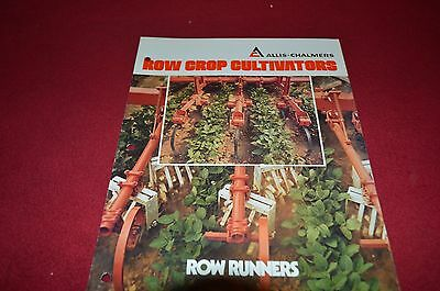 Allis Chalmers Row Runners Cultivators Dealer's Brochure DCPA