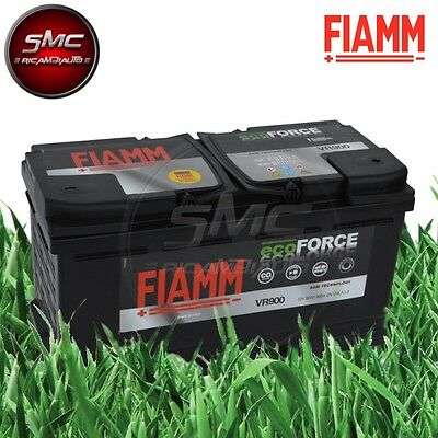 BATTERIA AUTO FIAMM VR900 ECO-FORCE AGM START&STOP 90Ah 12V