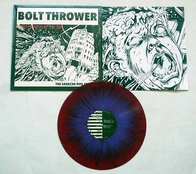 """Bolt Thrower """"The Earache Peel Sessions"""" Drowned In Torment Colour Vinyl - NEW!"""