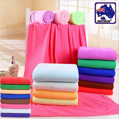 30x70cm 70x140cm Microfiber Towel Bath Beach Drying Washcloth Shower Wash HTOWE