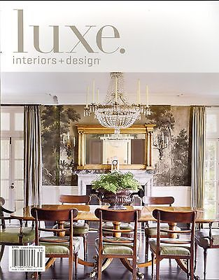 Luxe. Interiors + Design Magazine Volume 11 Issue 1 Winter 2013 National  Edition