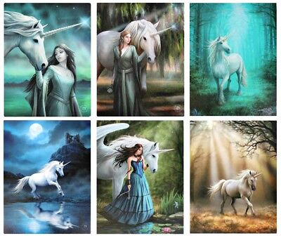 Anne Stokes Unicorn Collection Wall Plaques/Canvas Prints - Mystical Unicorns