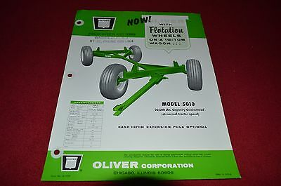 Oliver Tractor 5010 Ten Ton Wagon Dealer's Brochure DCPA