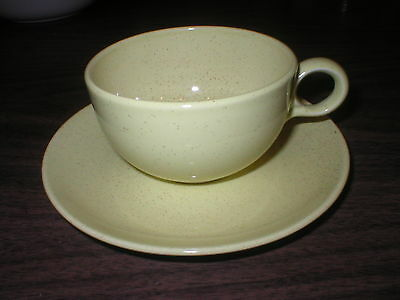 Taylor Smith Taylor  PEBBLEFORD Yellow Cup/Saucer