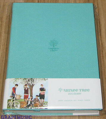 Shinee 2013 Sm Official Diary Sealed