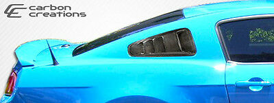 10-14 Ford Mustang Hot Wheels Window Carbon Fiber Creations Scoop!!!