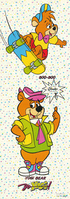 Door Poster:tv:cartoon : Yogi Bear & Boo Boo - Free Shipping - Rw17 A