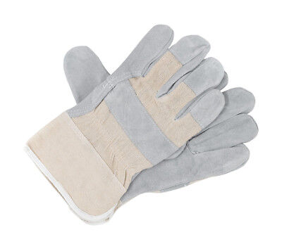 10 Pairs Canadian Rigger Gloves Leather Work Safety Gauntlets