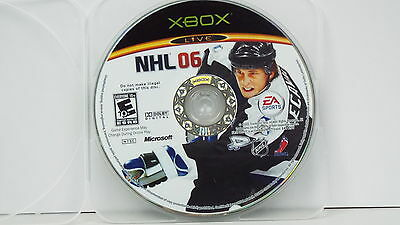 NHL 06  (Xbox, 2005) DISC ONLY R1600