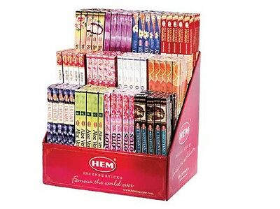 BULK 25 Boxes of 8 gram Incense YOUR CHOICE *Hem * Padmini * Kamini * 200 Sticks