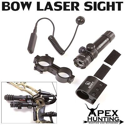 Apex Laser Bow Sight for compound bow - Red dot target archery and hunting
