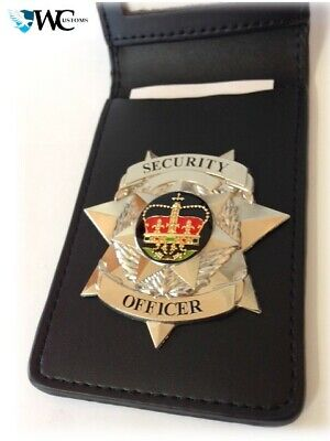 Badge Wallet - NEW - Badge not Included - Fit Your Own Badge