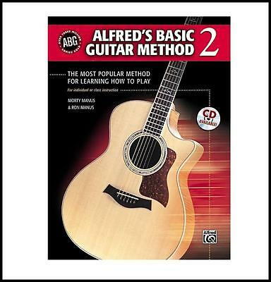 Alfred's Basic Guitar Method Level 2 Book most popular method for learning play