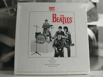 Beatles - The Beatles Story Box 1 Cd + 1 Mc + 1 Vhs + Booklet Limited Edition Ss