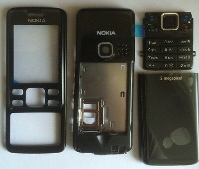 Replacement For A Nokia 6300 6301 Fascia Housing Cover Black