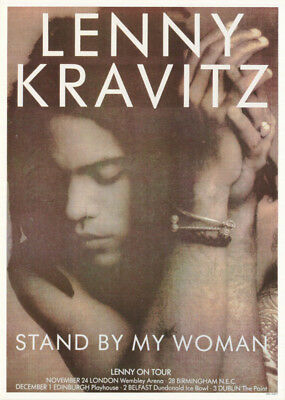 Poster : Music : Lenny Kravitz - Stand By My Woman -  Free Shipping !     Rc38 C