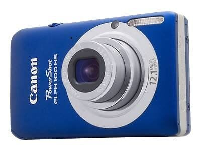 NEW Canon PowerShot ELPH 100 HS 12.1 MP Digital Camera Blue