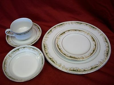 Queen Anne Signature Collection Select Fine China - Two 5-Piece Place Settings!