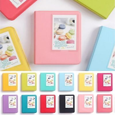 64 Slots Photo Album For FujiFilm Instax Mini Polaroid Fuji Film Camera 7 8 9 90