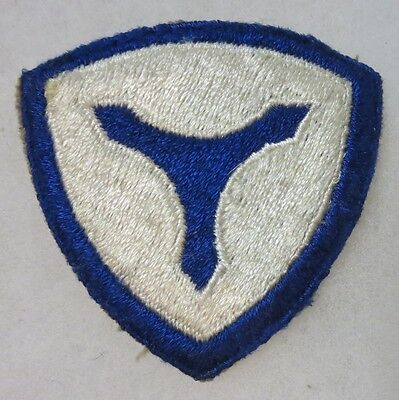 ORIGINAL 1940s Vintage WW2 3rd SERVICE COMMAND U.S. ARMY SHOULDER PATCH