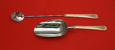 Monterey by Wallace Sterling Silver Bar Set 2pc HHWS  Custom Made