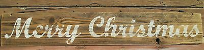 MERRY CHRISTMAS- Handmade Antique Style Sign,Rustic,Reclaimed wood,Holiday Decor