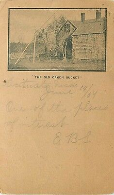 MA-SCITUATE-THE OLD OAKEN BUCKET-MAILED 1904-H52325
