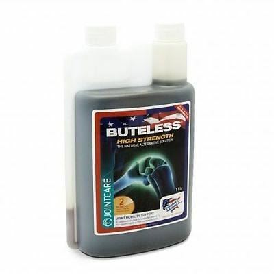 Equine America buteless high strength solution 1 Ltr, 2 month supply.