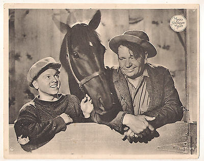 F10488 STABLEMATES MICKEY ROONEY WALLACE BEERY MGM Lobby Card Spain A